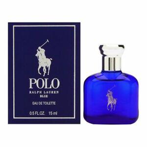 Polo Blue Cologne Perfume Ralph Lauren 0.5 oz 15 ml EDT Splash For Men New Boxed