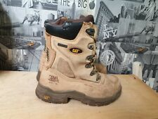 CAT WATERPROOF STEEL TOE /BUILD TOUGH SAFETY BOOTS SIZE 6/40