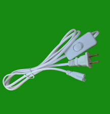 US Plug T5 T8 LED Tube Plug Power Cord with Switch Three-Hole 1.8 Meters x 5
