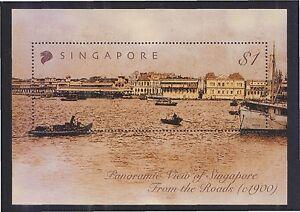 SINGAPORE 2004 SKYLINE OF SINGAPORE SOUVENIR SHEET $1.00 OF 1 STAMP SC#1088 MINT