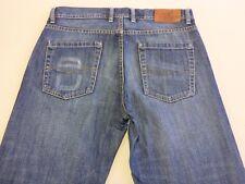 036 MENS EX-COND RODD & GUNN OLD SQUAW LOW RISE STR8 BLUE JEANS 32 / 32 L $190.