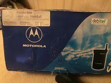 Original Motorola StarTAC 130 Black (Unlocked) Vintage Cellular Phone Collectors
