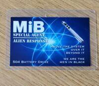 Men In Black ID Badge-Alien Response Special Agent prop cosplay MIB Neuralyzer