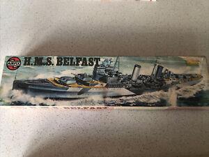 Airfix O4212-3 1/600 Vintage Classics HMS Belfast Series 4 Model Kit