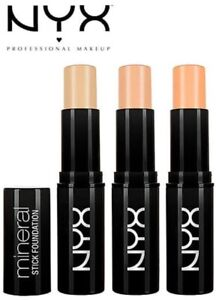 NYX Mineral Stick Foundation 6g - CHOOSE SHADE - NEW SEALED