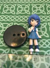 Evangelion Blushing School Girl Rei Petite Figure Japan Import FREE SHIPPING