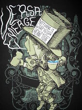 VERSA EMERGE T SHIRT Mad Concert Hatter Nothing Is What It's Ever Meant To Be MD
