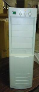 Vintage AT Tower Computer Case Enclosure Build PC White Pentium 386 486 960d