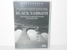 "*****DVD-BLACK SABBATH""THE BLACK SABBATH STORY VOLUME ONE""-2002 Sanctuary*****"