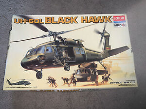 Academy, 1:35 scale, Sikorsky UH-60L Black Hawk, Model Kit#2192