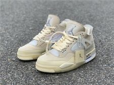 Nike Air Jordan 4 x Off White Sail 2020