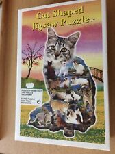 Lovely 1000 Piece Cat Shaped Jigsaw Puzzle From Acme