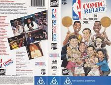 BASKETBALL ~ COMIC RELIEF~ VHS PAL VIDEO~ A RARE FIND