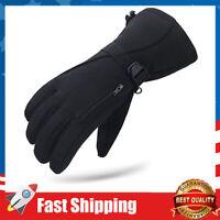 Waterproof Mens Ski Gloves Winter Warm 3M Thinsulate Snowboard Snowmobile Gloves