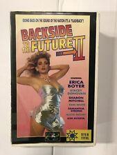 Backside To The Future Ex-Rental Erotic Vintage Big Box VHS Tape English NL subs