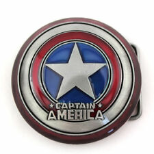 New Captain America Shield First Avenger  Metal Fashion Belt Buckle