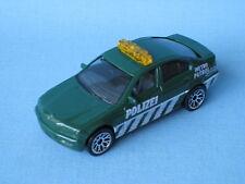 Matchbox BMW 3 Series 323i Police Car Polizei Dark Green No Roof Logo