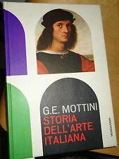 Mottini, STORIA DELL'ARTE ITALIANA, Mondadori 1962