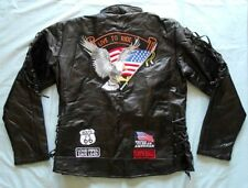 Leather Motorcycle Plus Size Coats & Jackets for Women