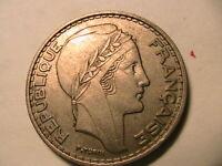 1949-A Algeria 50 Francs Ch AU/BU Lustrous Original Tone French RF Algerie Coin