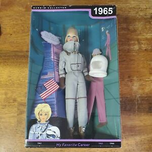 1965 My Favorite Career Astronaut Barbie Reproduction Collector Doll New in Box!