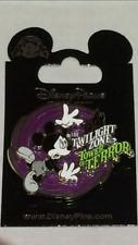 Disney Twilight Zone Tower Of Terror Mickey Glow In The Dark 3-D Spinner Pin NEW