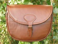 Genuine Leather Cartridge Bag Shotgun Shell Clay Shoot Bag over 100 Shells