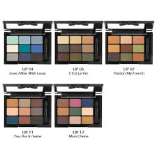 NYX Love in Paris 9 Colour Eye Shadow Palette - 4 Assorted