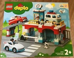 LEGO DUPLO 10948 Parking Garage 112 pieces age 2+ in hand ~ Brand NEW ~