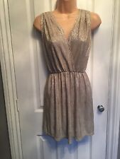 e0d7ca07f6303 ❤️Oh My Love/Topshop❤️Champagne Gold Party Dress Size S - Fits Size