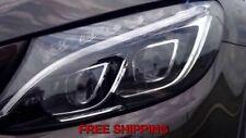 Mercedes-Benz W205 Plug&Play C-Class Dual LED Headlight (Halogen Replcement)