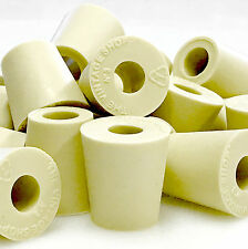 #3 Rubber Stopper With Hole - 2-Pack