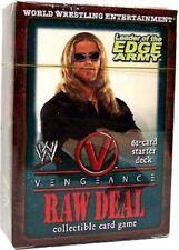 WWE Wrestling Raw Deal TCG Vengeance Leader of the Edge Army Starter Deck