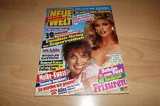 Neue Welt Nr.51/1987 TB Linda Gray u Morgan Fairchild,Mary Roos,Bee Gees