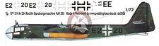 Peddinghaus 1/72 Arado Ar 234 S-10 Markings Hs 293 & FuG 203 Tests Rechlin 1318