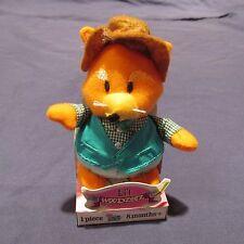 Li'l Woodzeez Plush Figure Soft Toy 5in Select: Fox or Hedgehog New NIP