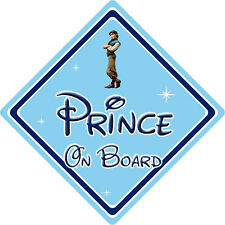 Disney Prince On Board Car Sign – Baby On Board – Tangled Prince Eugene