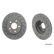 MERCEDES OEM 16-17 GLE400 Front Brake-Disc Rotor 1664211400