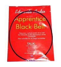 Edwards Audio Apprentice Black Belt Turntable Drive Belt, fits Rega. DECO