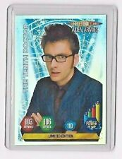 DOCTOR WHO ALIEN ARMIES LIMITED EDITION  CARD....THE 10TH  DOCTOR WITH GLASSES