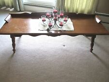 VINTAGE ROCK MAPLE COFFEE TABLE END TABLE ~ Rock port Rock Maple Circa 1960's