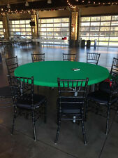 "Poker Felt style table cover in Speed Cloth fits 72"" round - #1 upgrade surface"