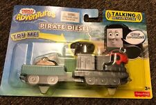 NEW NIB Thomas & Friends Train Adventures Pirate Diesel Talking Metal Engine Toy