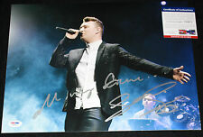 Sam Smith signed & inscribed 11 x 14, In The Lonely Hour, PSA/DNA Y38971