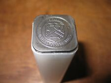 1 OUNCE PALLADIUM  COIN TUBE  NO COINS  GREY TOP TOP TUBE FROM THE U.S. MINT