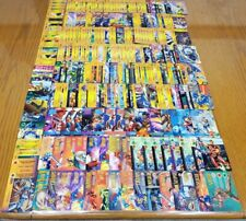 Lot Of 300 Marvel OverPower CCG Hero Cards, Mission, Teamwork, Training Universe