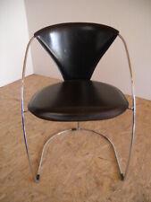 Mid-Century Design 70er Linda Stuhl Arrben Italy Armlehnstuhl Schreibtischstuhl