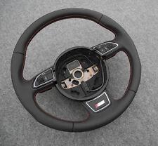 Audi 2012-2015 S-line DSG Sline RED THREAD steering wheel A4 8K A5 Q5 Q7 S RS