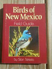 New Birds of New Mexico Field Guide Identification  by stan Tekiela