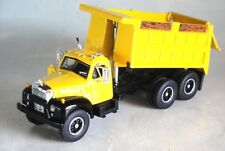 FIRST GEAR YELLOW MACK B DUMP TRUCK 1/64 DIECAST 60-0419